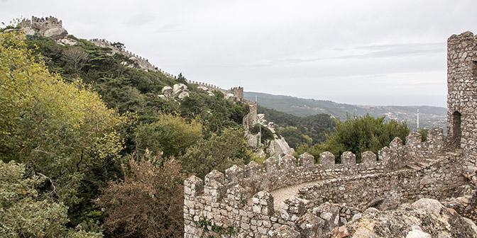 moorse kasteel sintra portugal bezienswaardigheden