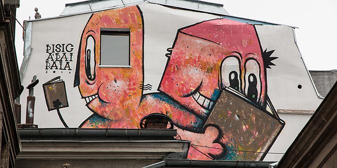 streetart boekarest roemenie