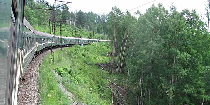 trein siberie