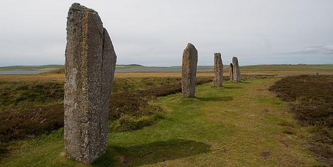 stone cricle orkney