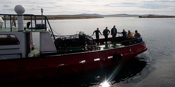duiken scapa boot