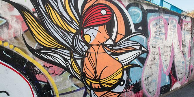 brankov most street art