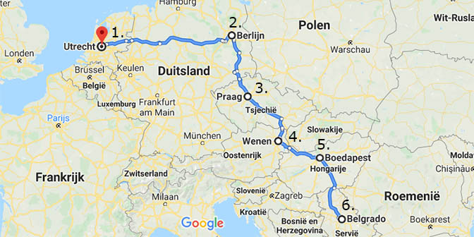 interrail oost europa