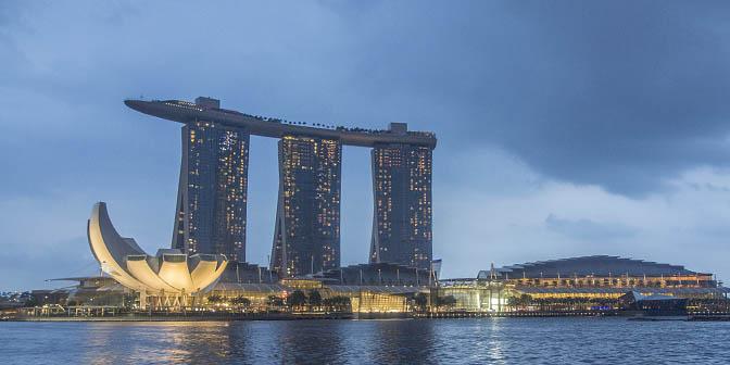 singapore zwembad op dak hotel