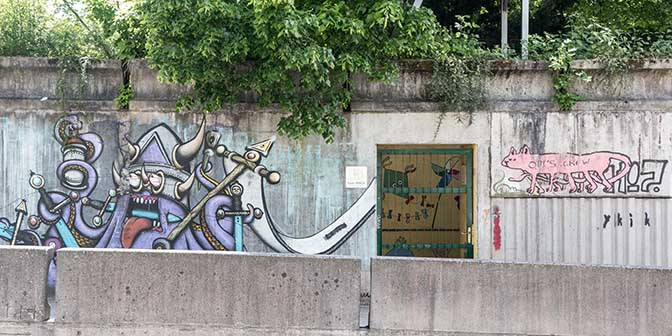 street art tivoli ljubljana