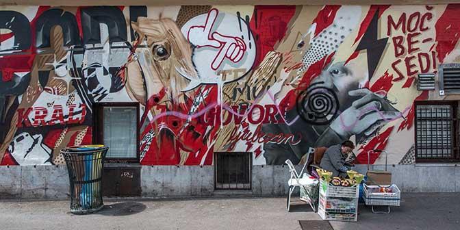 street art centrum ljubljana