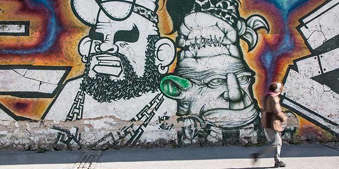 street art slovernie