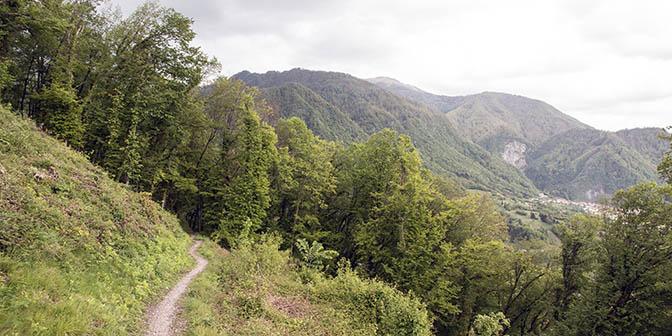 wandelen soca vallei