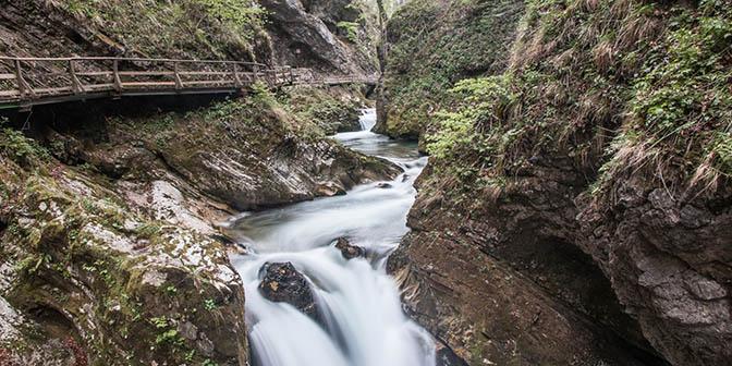 waterval vintgar slovenie