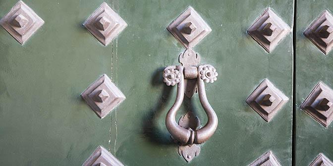 deur gietijzer