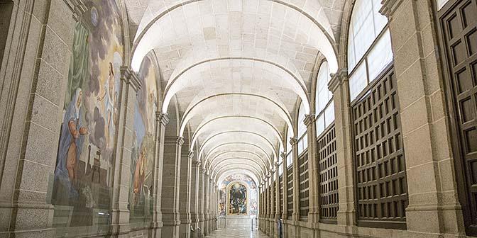 kloostergang escorial