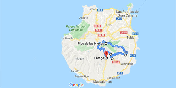 gran canaria route
