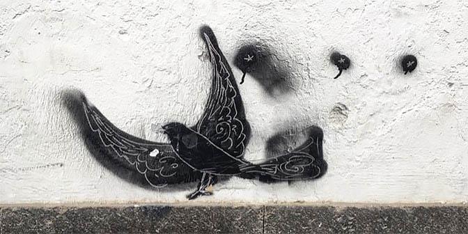 straatkunst las palmas de gran canaria