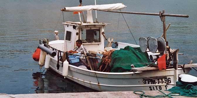 vissersboot mallorca spanje