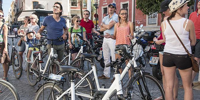 fietsen met gids
