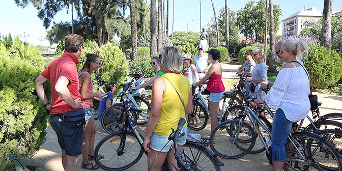 fietstour sevilla hoogtepunten