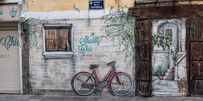 street art fiets