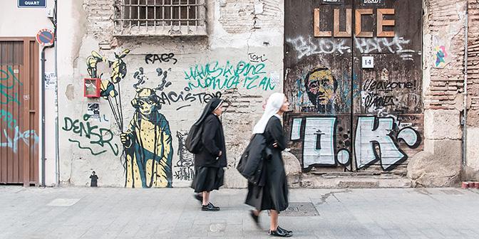 non streetart