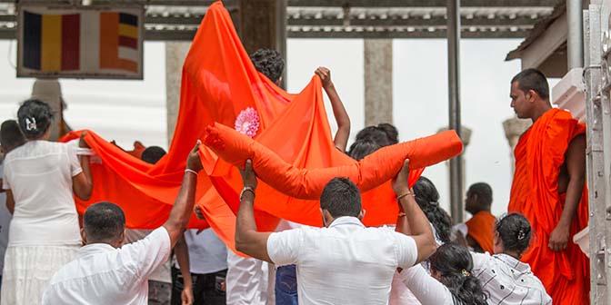 culturele driehoek sri lanka boeddhisme