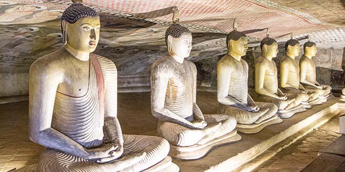 boeddha gouden tepel dambulla