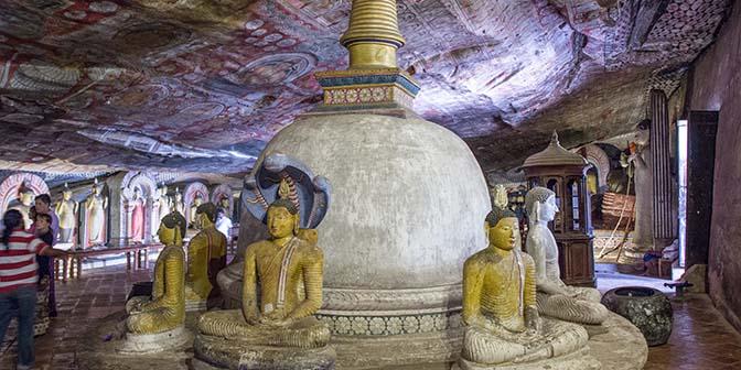 gouden tempel dambulla