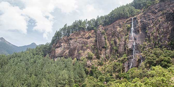 trekking waterval sri lanka