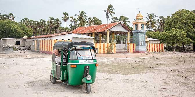 tuktuk delft eiland jaffna