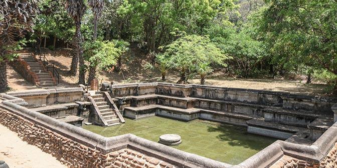paleis polonnaruwa