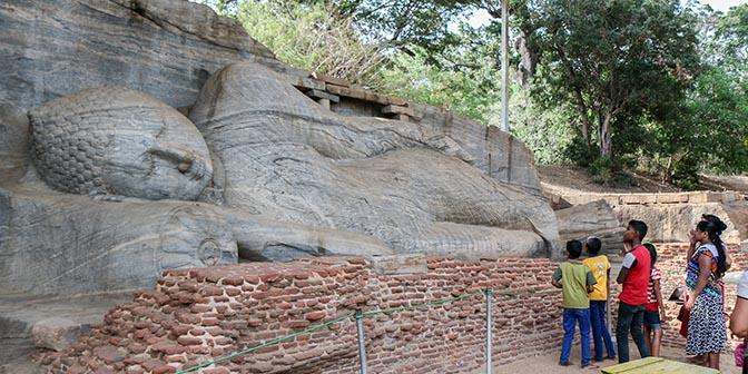 boeddha tempel polonnaruwa