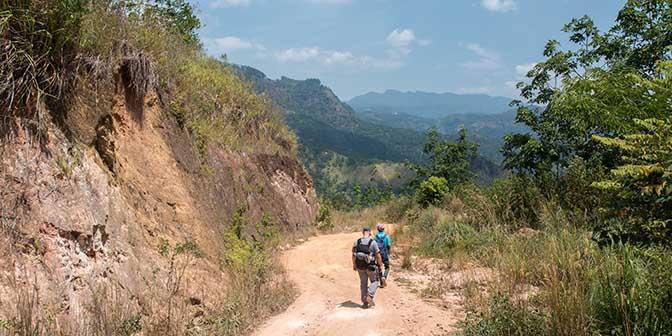 trekking sri lanka bergen
