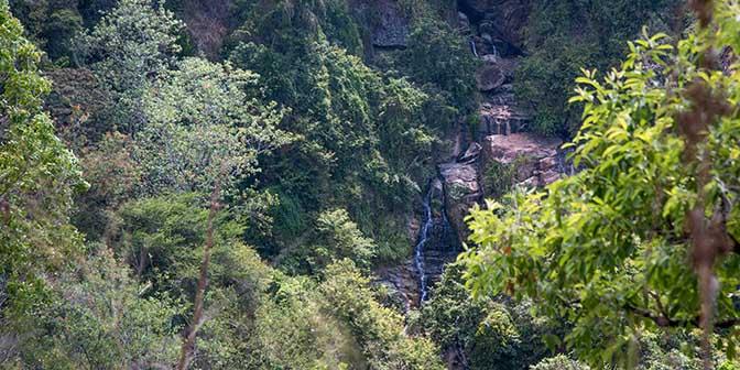 waterval trekking ella