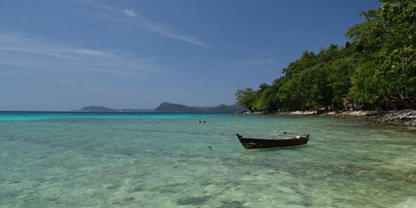 het strand van pulau weh sumtra