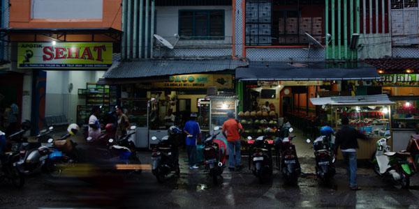 nachtmarkt van Bireuen