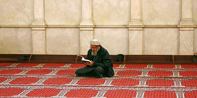 grote moskee gebed