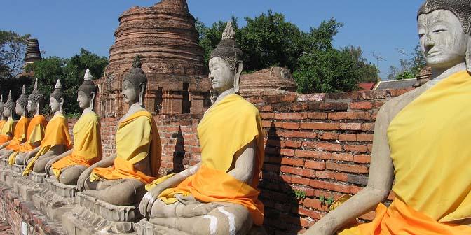 Wat Yai Chaiyamongkhon thailand