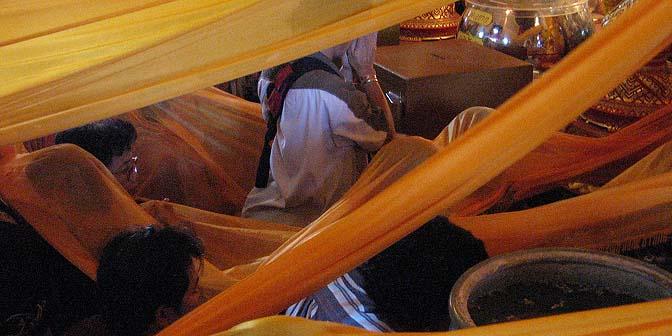 ceremonie ayuthaya thailand