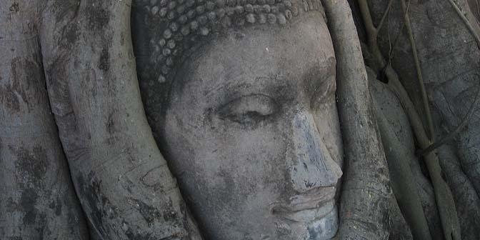 boeddha bom ayuthaya