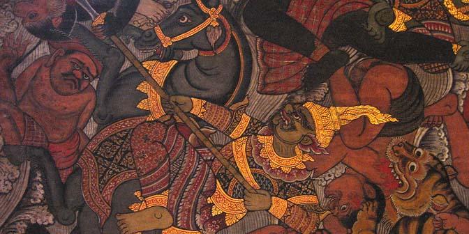 schildering ayuthaya