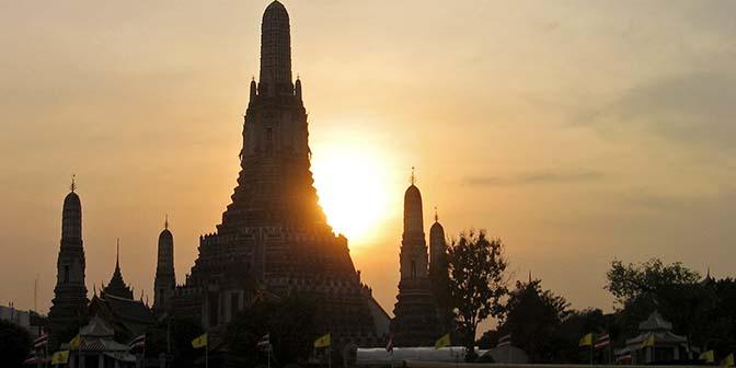 fotografie tempel bangkok