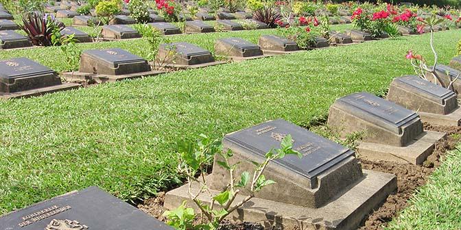 begraafplaats kanchanaburi thailandoorlog
