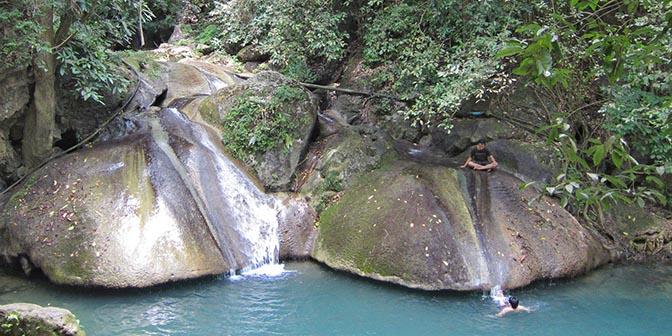 zwemmen erawan falls
