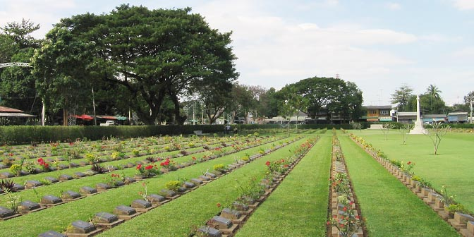 oorlogsbegraafplaats thailand