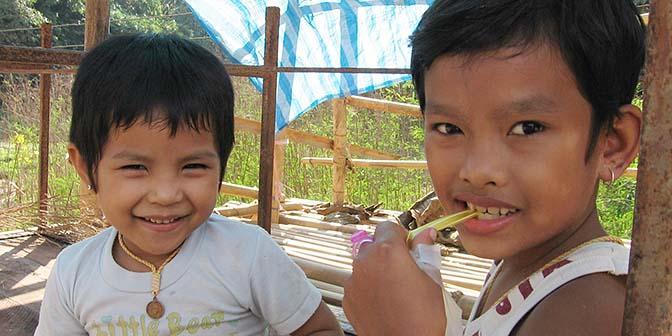 thailand kinderen