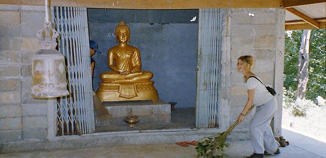 vrijwilligerswerk thailand tempel