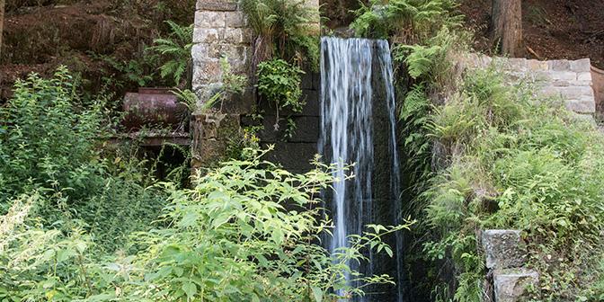 waterval in tsjechie