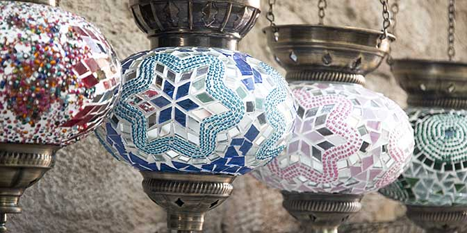 turkije antalya lamp