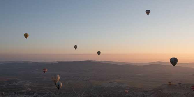 zonsopkomst cappadocie
