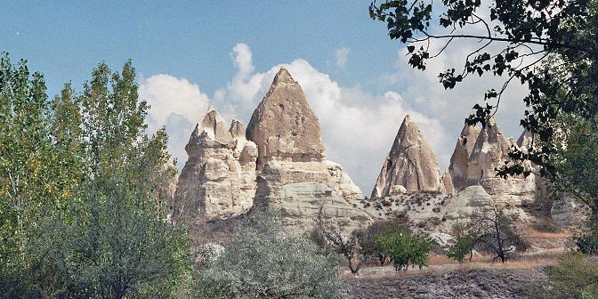 goreme cappadocie turkije