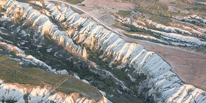 landschap cappadocie
