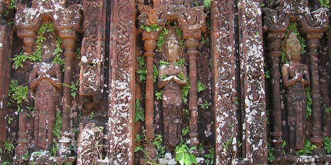cham tempel vietnam